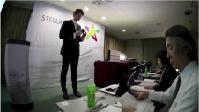 2014(2月)日比谷プレスセンターでLED照明「XI」の発表並びに紹介セミナーを開催