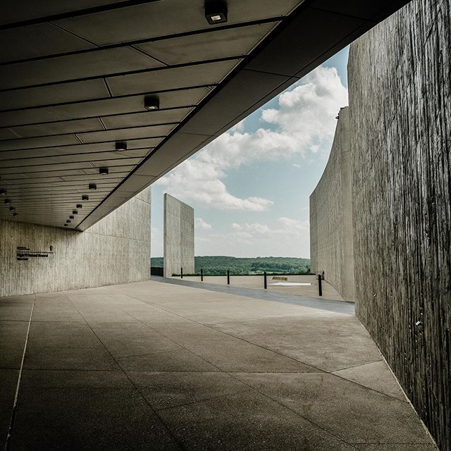 NPS Site 120 of 419: Flight 93 National Memorial. This was a tough one for us, much more than we expected. The whole memorial is beautifully put together and the visitors center does a great job of telling the story of the heroes of Flight 93. But one of the first things in the museum is a loop of news coverage from Sept. 11 and it brought up a lot of feelings—I was watching the exact same coverage live when the plane hit the second tower. Eating breakfast in front of the little tv on the kitchen counter, getting ready for another day of middle school. I'd forgotten until we visited this site just how terrifying that was—usually world events were filtered down to me through the perspective and explanations of adults, but on that day, there was no explanation, just raw fear. I was surprised by how that awful foreboding nausea welled up in me again, and David felt the same. We were glad to have the kids there pointing out butterflies in the field, using the curbs as balance beams, doing word searches in their jr ranger books (the JR books, by the way, do such a good job of bringing 9/11 to an appropriate kid level and including lighter info and activities, too. Not an easy task; we were really impressed by it.) I would recommend a visit here to anyone—it's a beautiful memorial. But maybe plan it for later in the day? It really took the air out of us and we were glad it was the last thing we had planned so we didn't have to muster up more energy for something lighter.