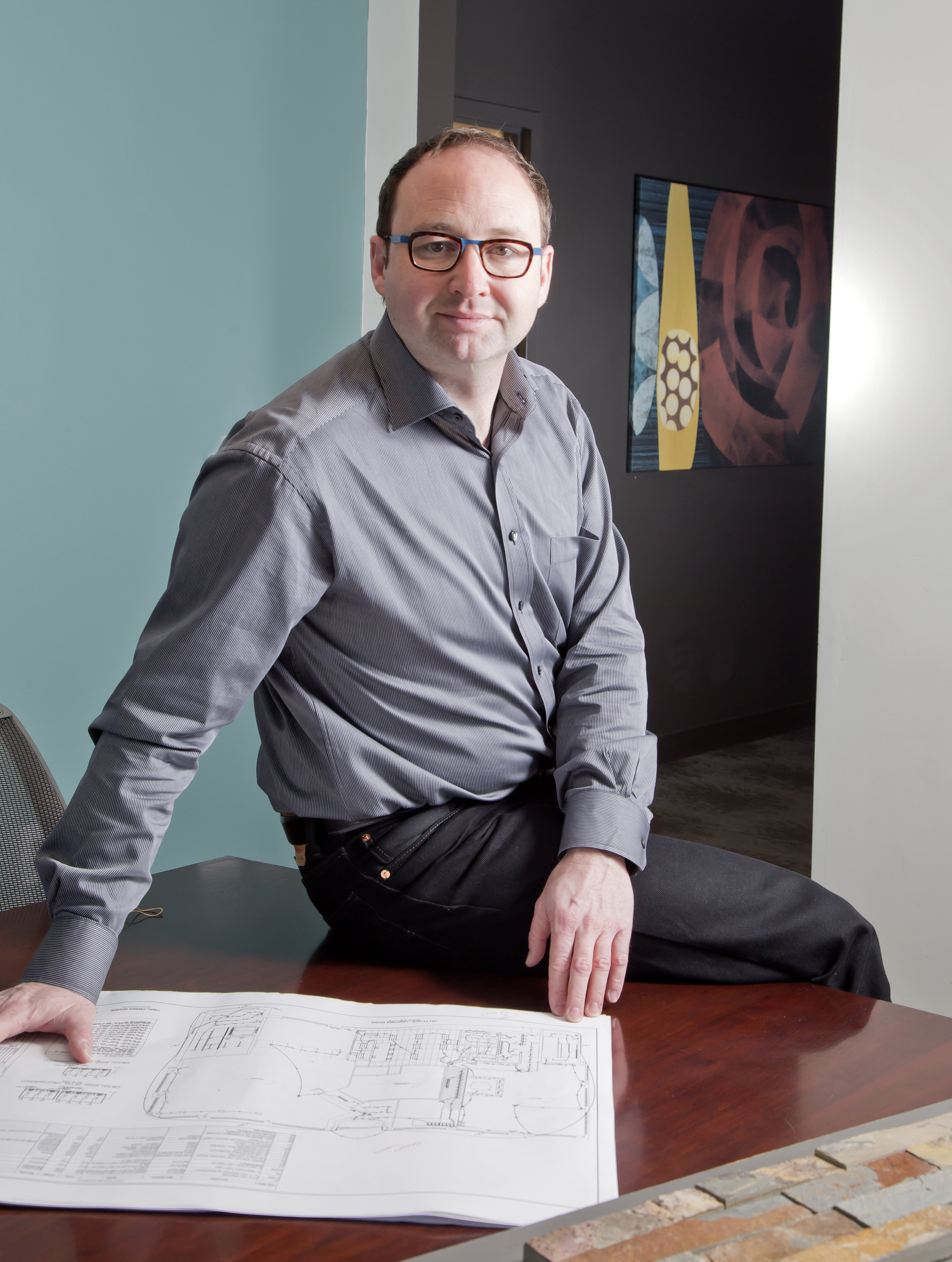 One of our architects, Michael Schornack.