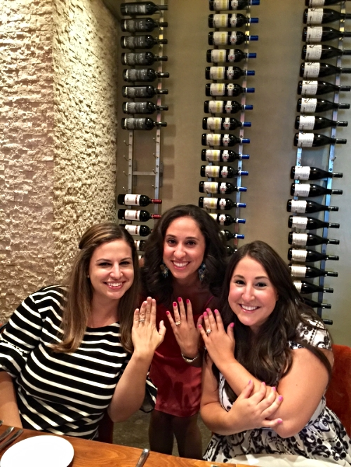The Cangelosi Sisters are officially off the market.