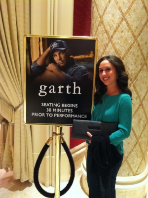 """""""Garth"""" and I in Vegas 2012."""