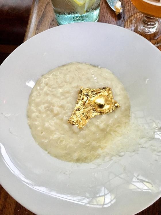 24-Karat Gold Risotto