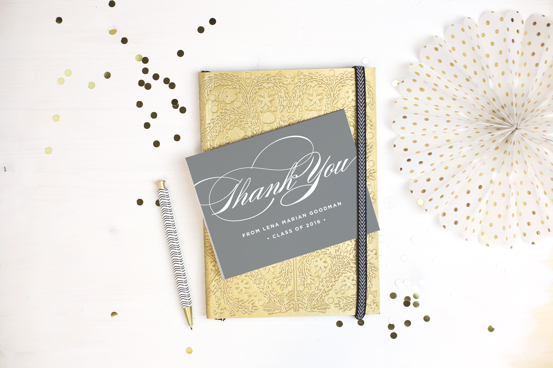 Basic Invite- Graduation Thank You Cards