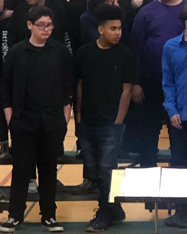 Last concert of the year for my son being in middle school. Where did the time go!!!!