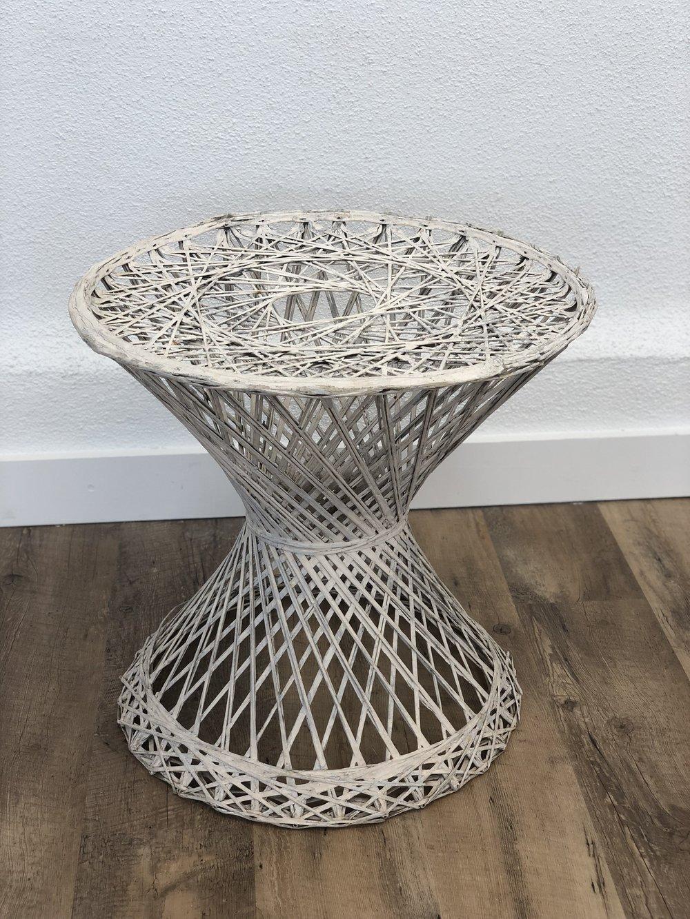 fiberglass side table