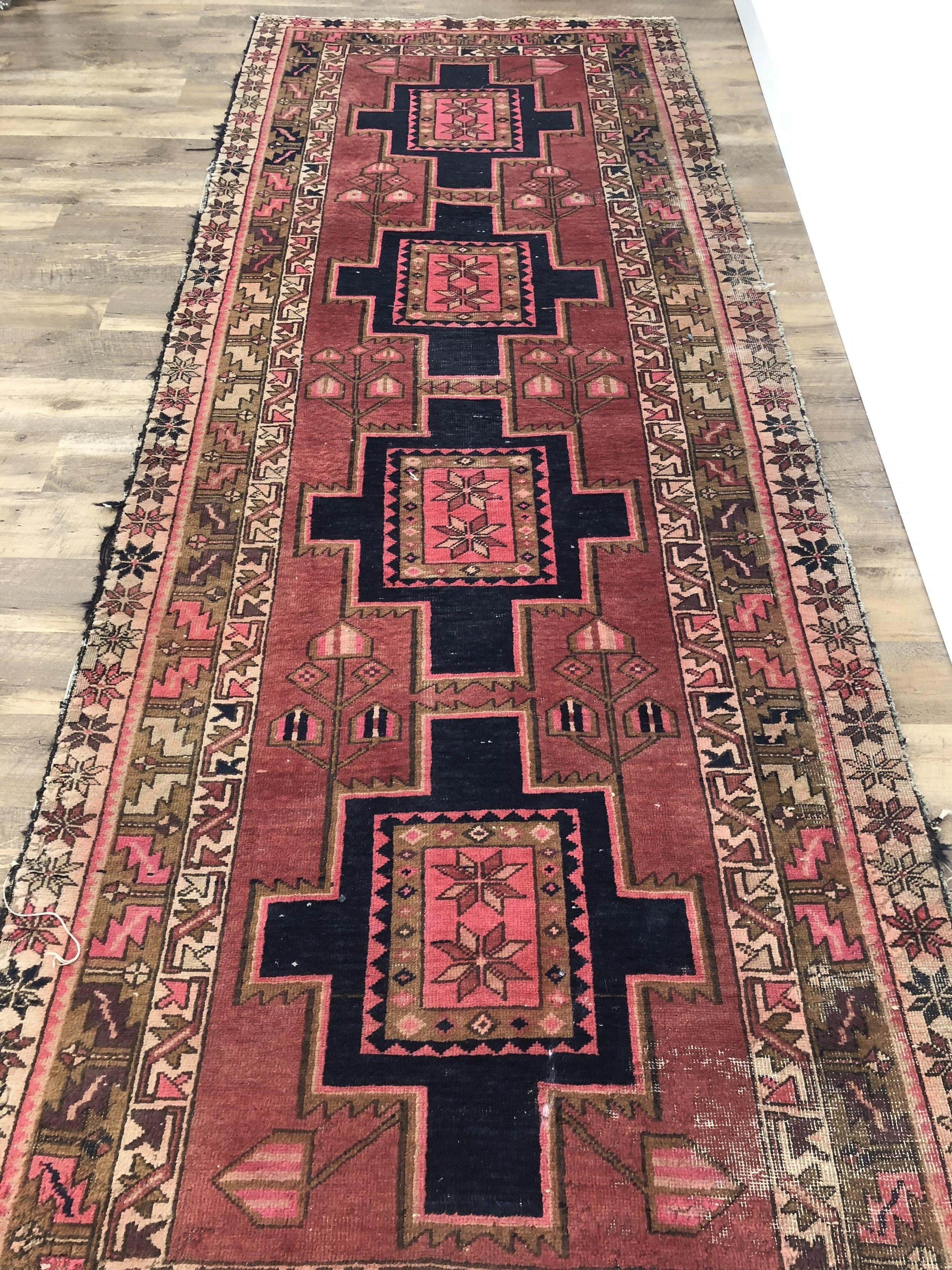 rug #6 - 3.5' x 10' runner