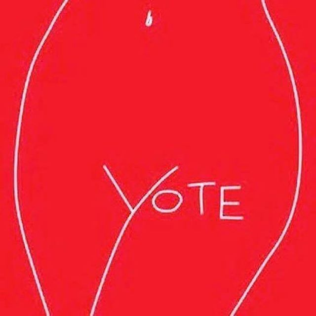 the time is now. • #Repost @saraharveysuperhero ・・・ VOTE
