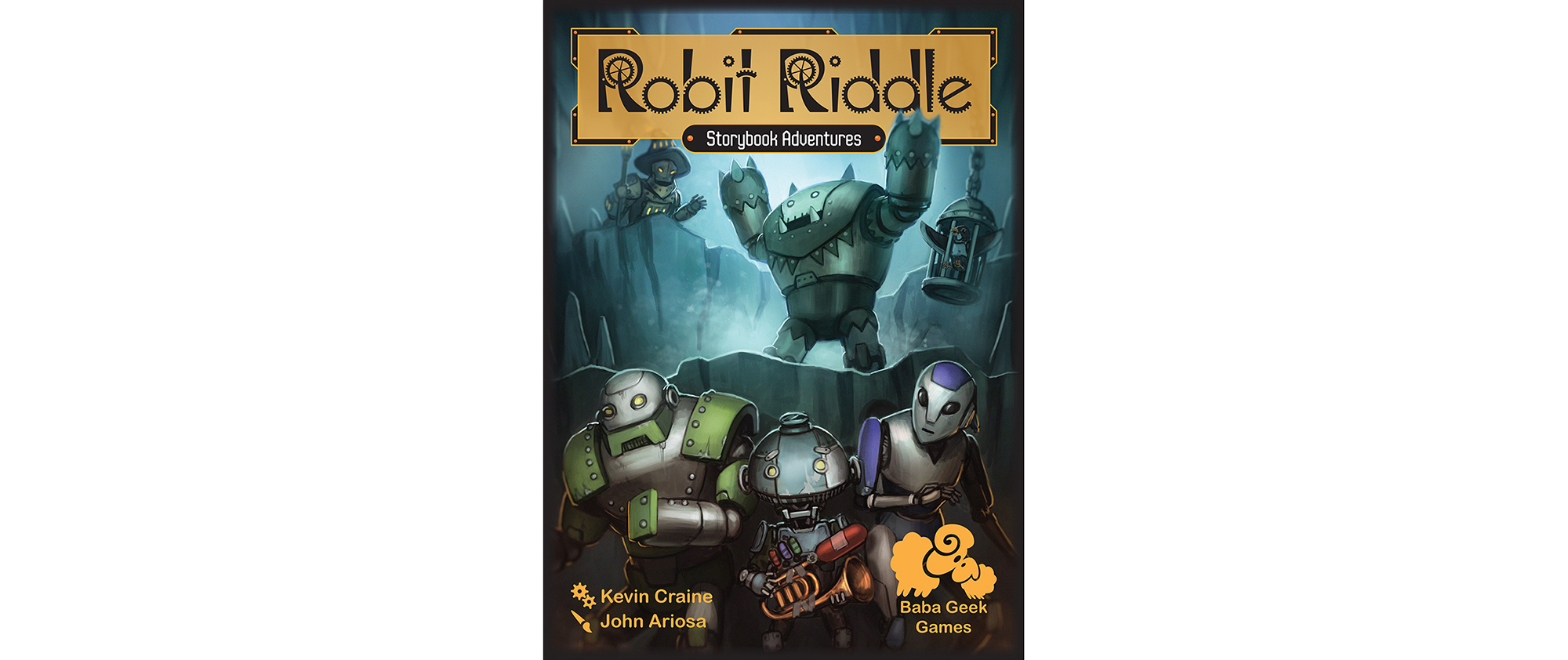 My first (and maybe only) published game Robit Riddle