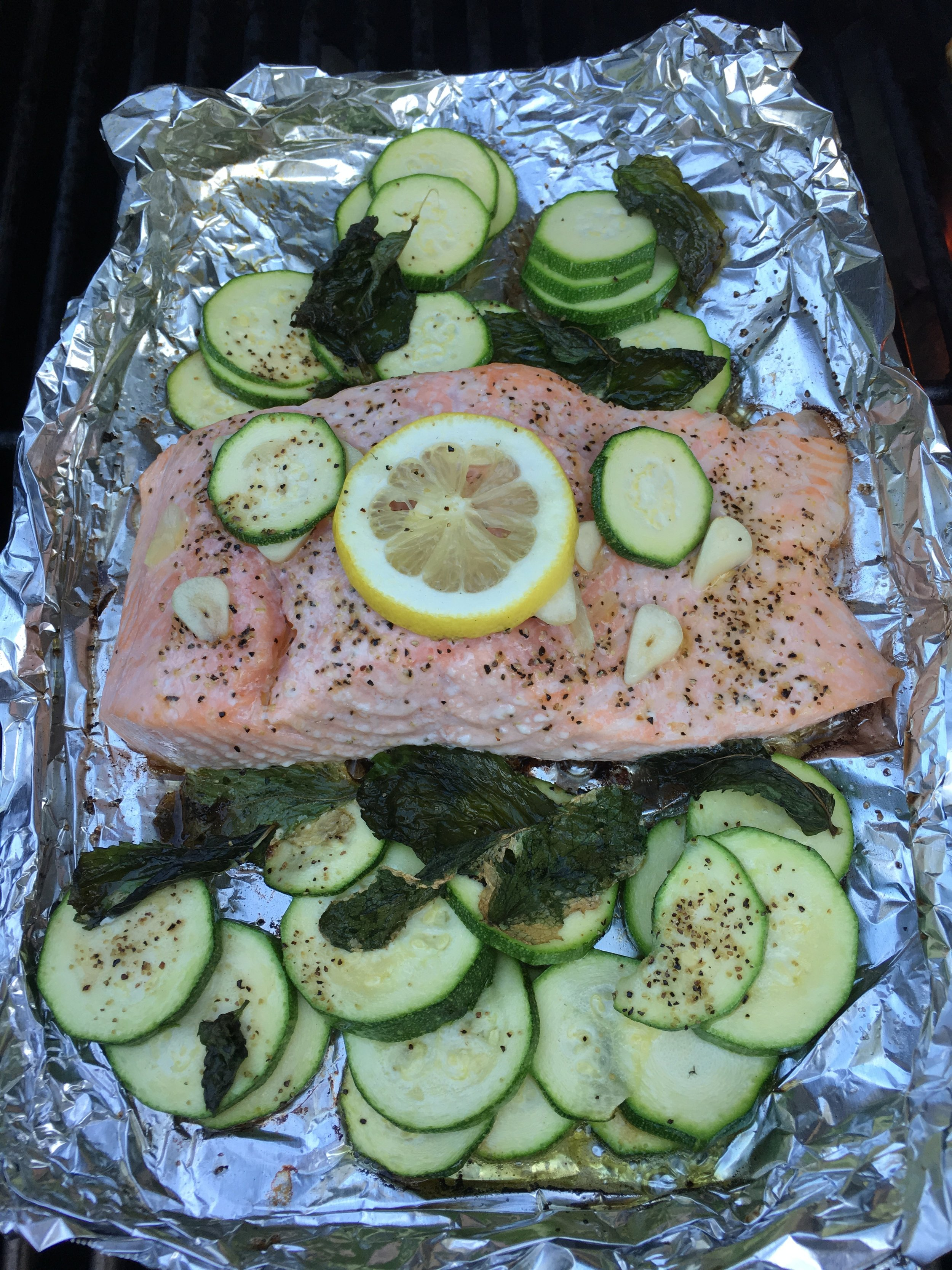 Dinner - Take the easy clean up route-GRILL!