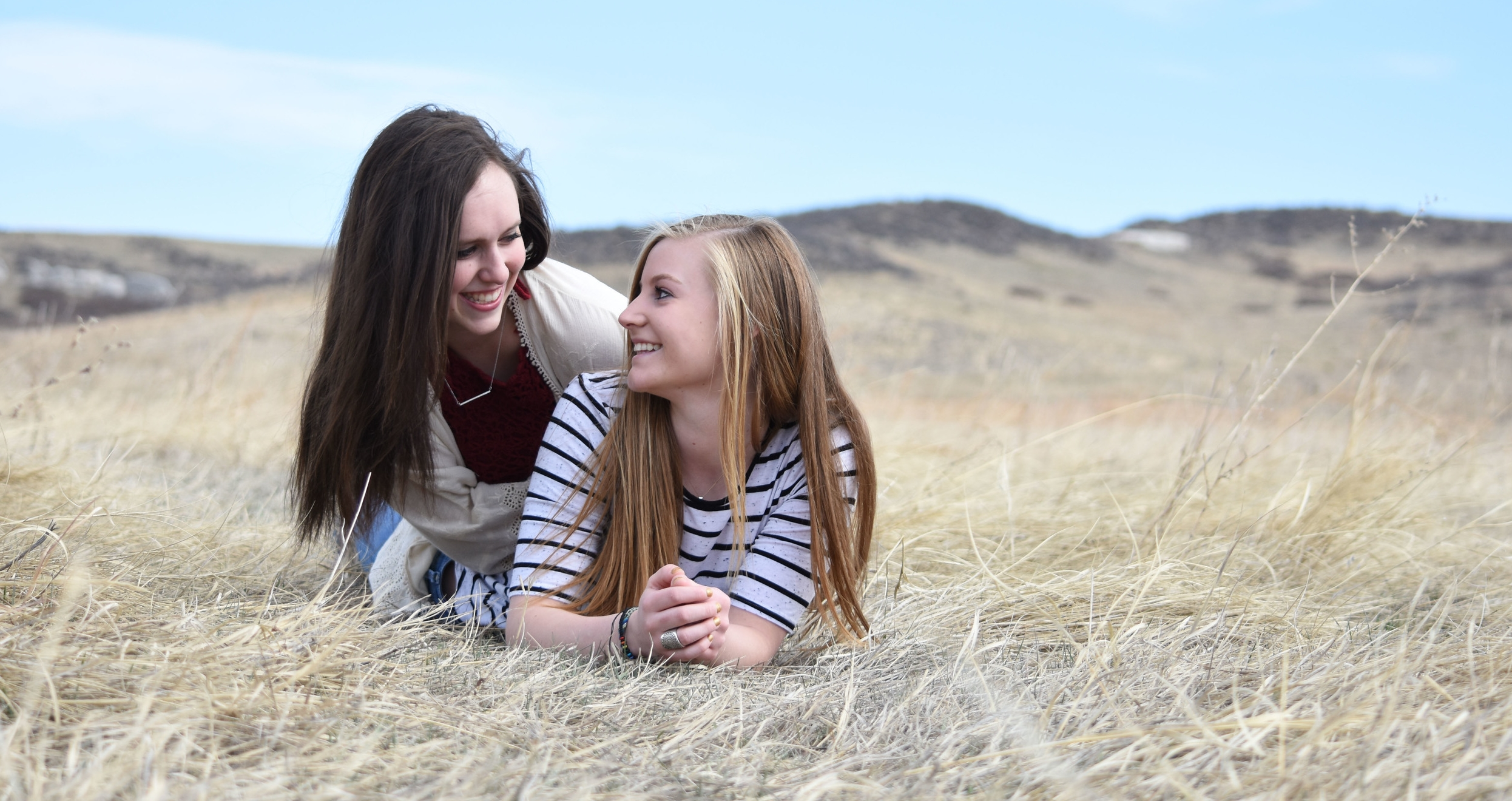 Katrina Detmer and Kelsey Pharis