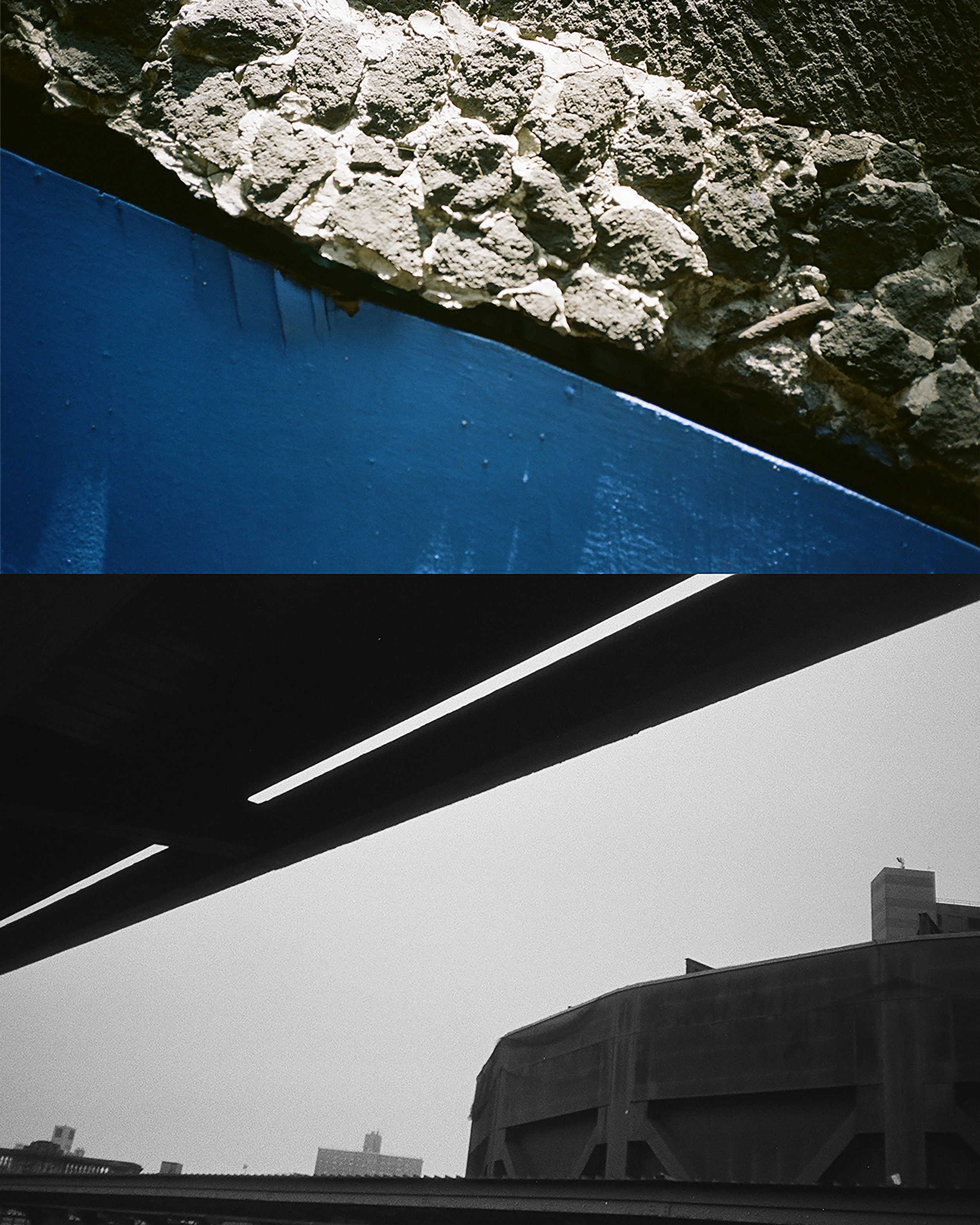 Across Sands    film photography collage, 2018