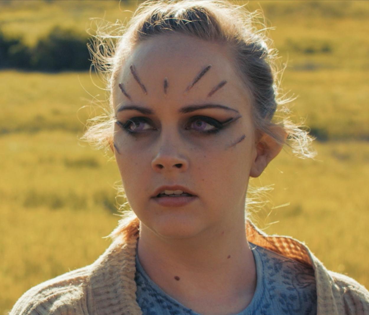 Marianne Haaland as Skye in  Star Wars: Rivals .