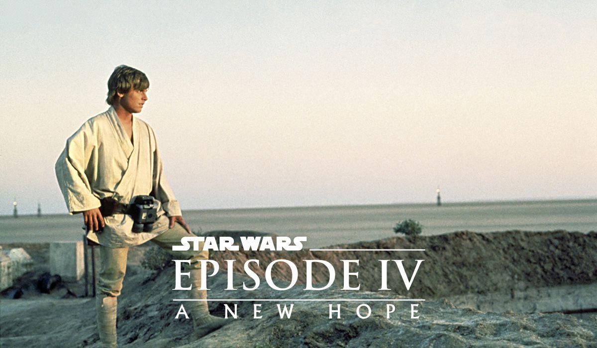 Star Wars - Episode IV:  A New Hope