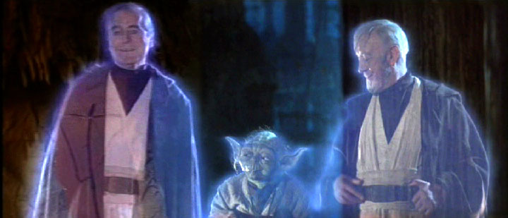 Frame grab from Star Wars - Episode IV:  A New Hope.
