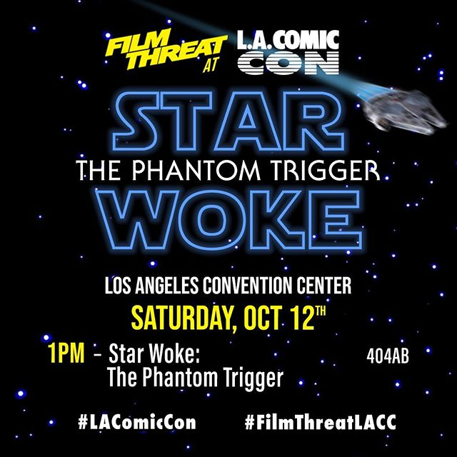 "@thestorygeeks co-host, @sand_rad1 will be on @filmthreat's ""Star Woke"" panel this weekend at LA Comic Con! Be sure to check it out! Special thanks to @thatchrisgore & @filmthreatalan for the invite! . . #lacomiccon #staywoke #woke #comiccon #filmthreat #chrisgore #fun #panel #saturday #comicbooks #thestorygeeks #geeks"