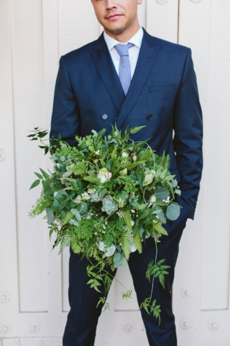 Here's my woodland bouquet!