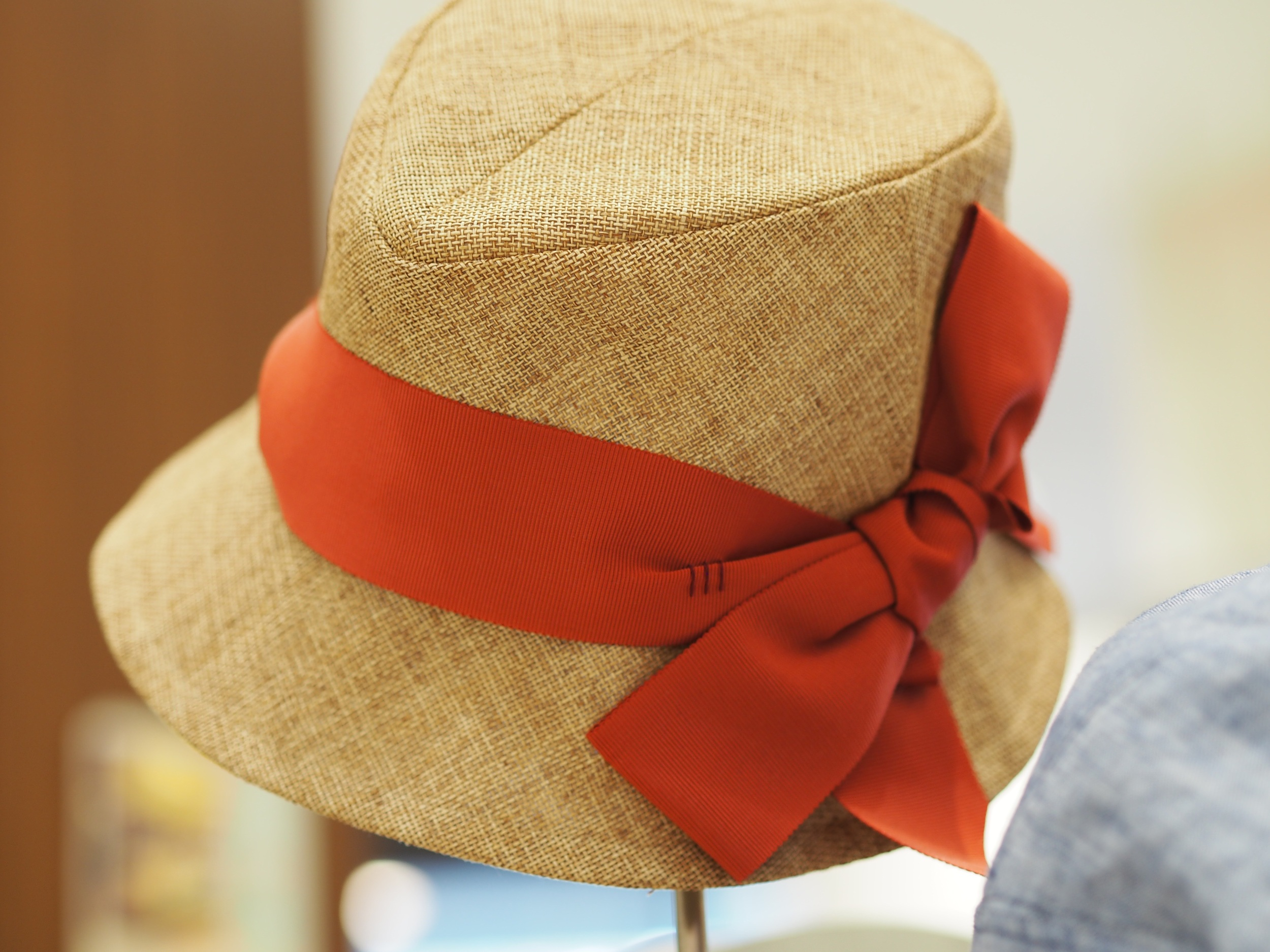 Hat by Levin in a raffia material you can get at Tirb and Reiner