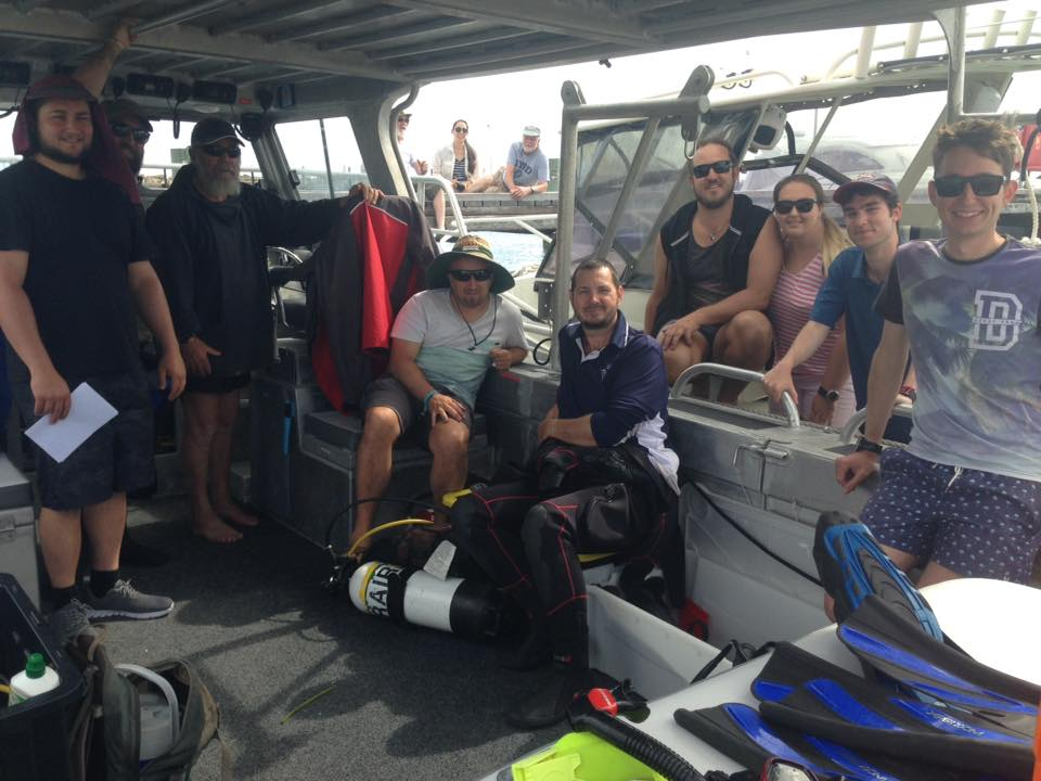 The team on the Dirk Hartog