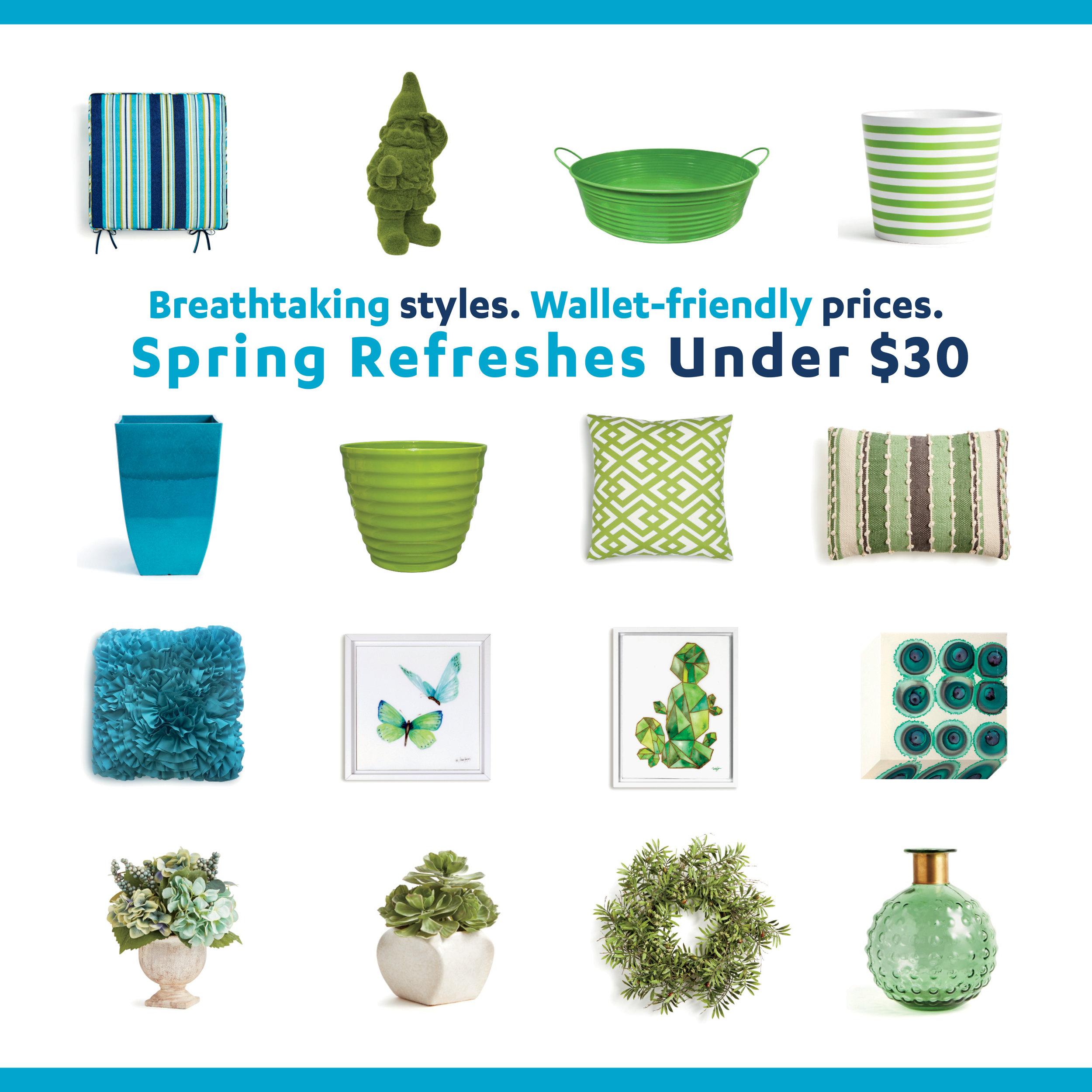 1080 x 1080 Spring Refreshes Under $30 NEW2.jpg