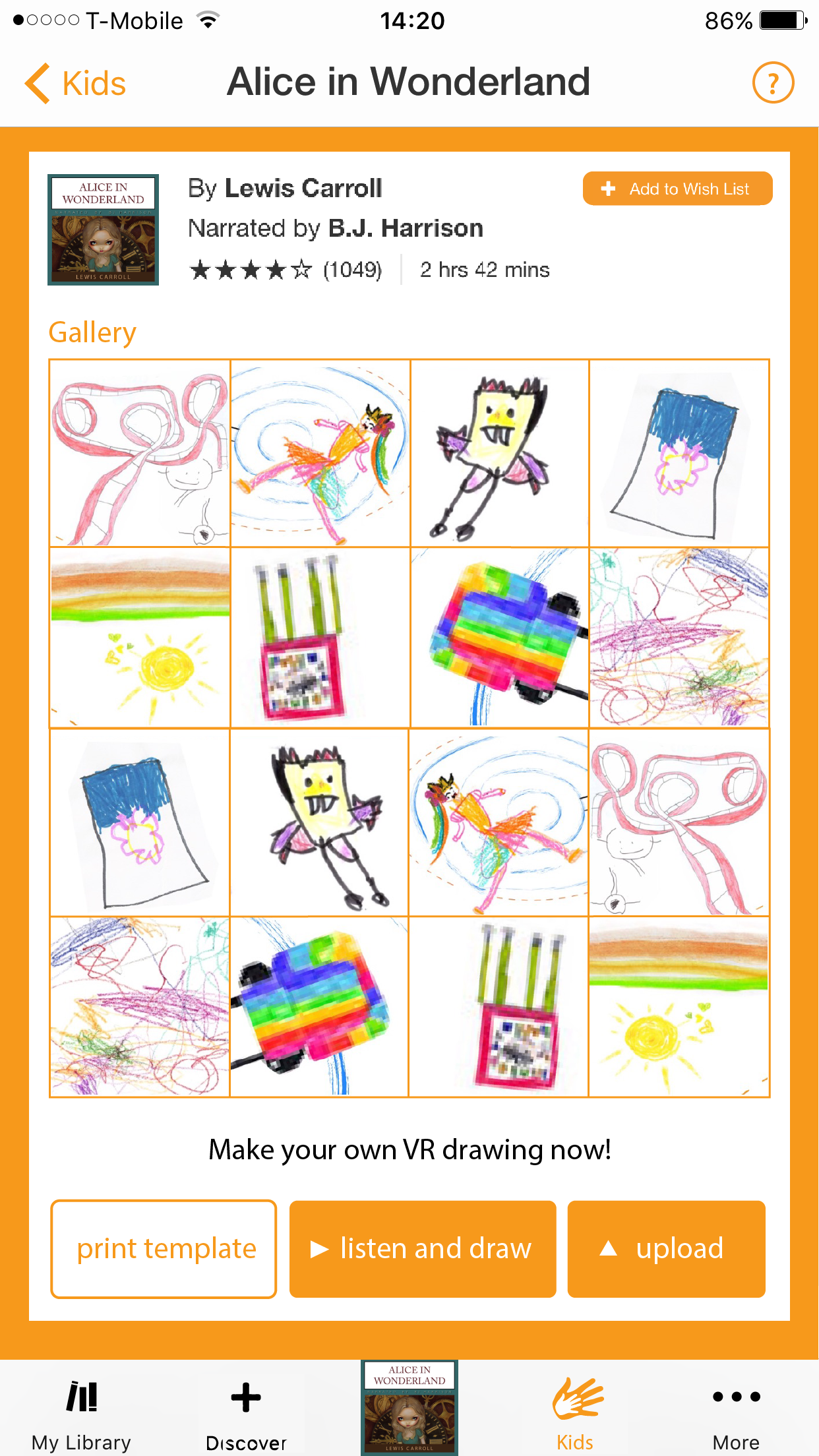 3. Online Creative Community - After drawing and uploading, parents can help children share their creations in our online community, or browse other kids' drawings and boost their creativity!