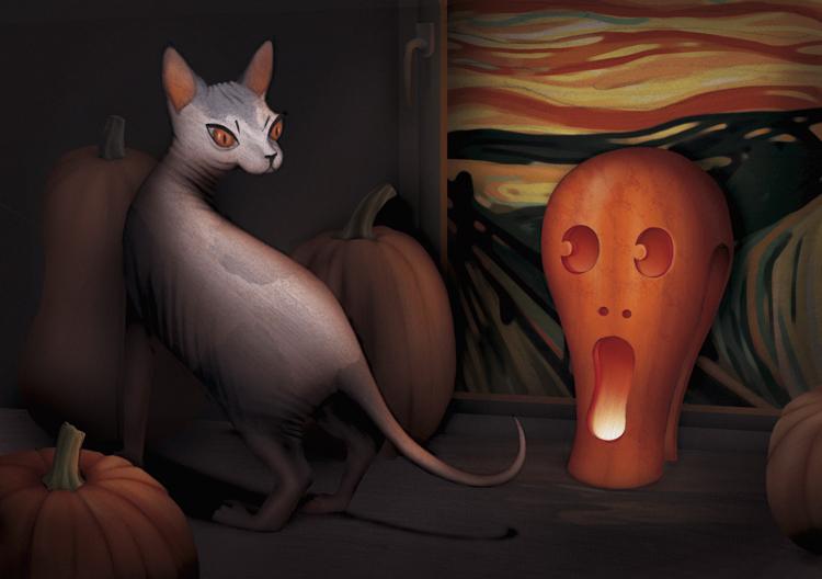 Skrybchenko_The_Scream_Pumpkin.jpg
