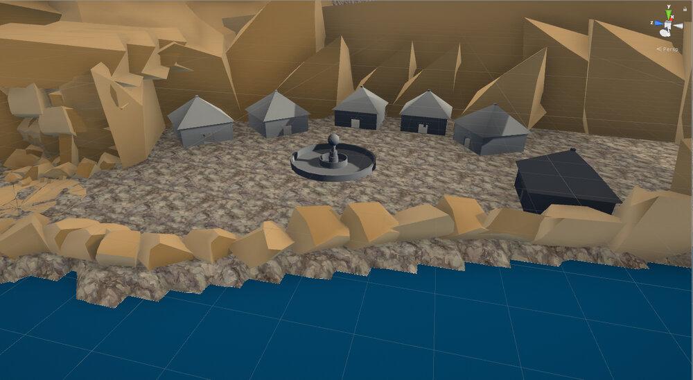 Second Combat Area