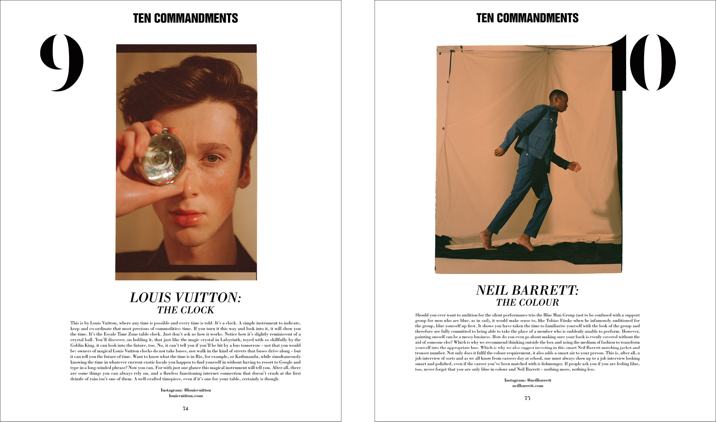 10 COMMANDMENTS - 10 MEN - ISSUE 45 - AW16