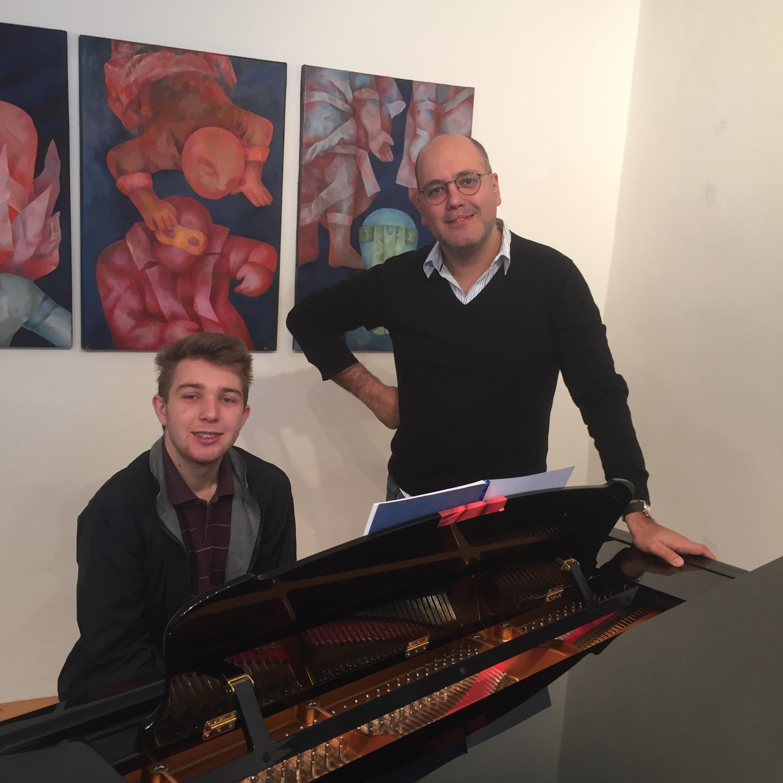 Josip Frigan & Gottlieb Wallisch