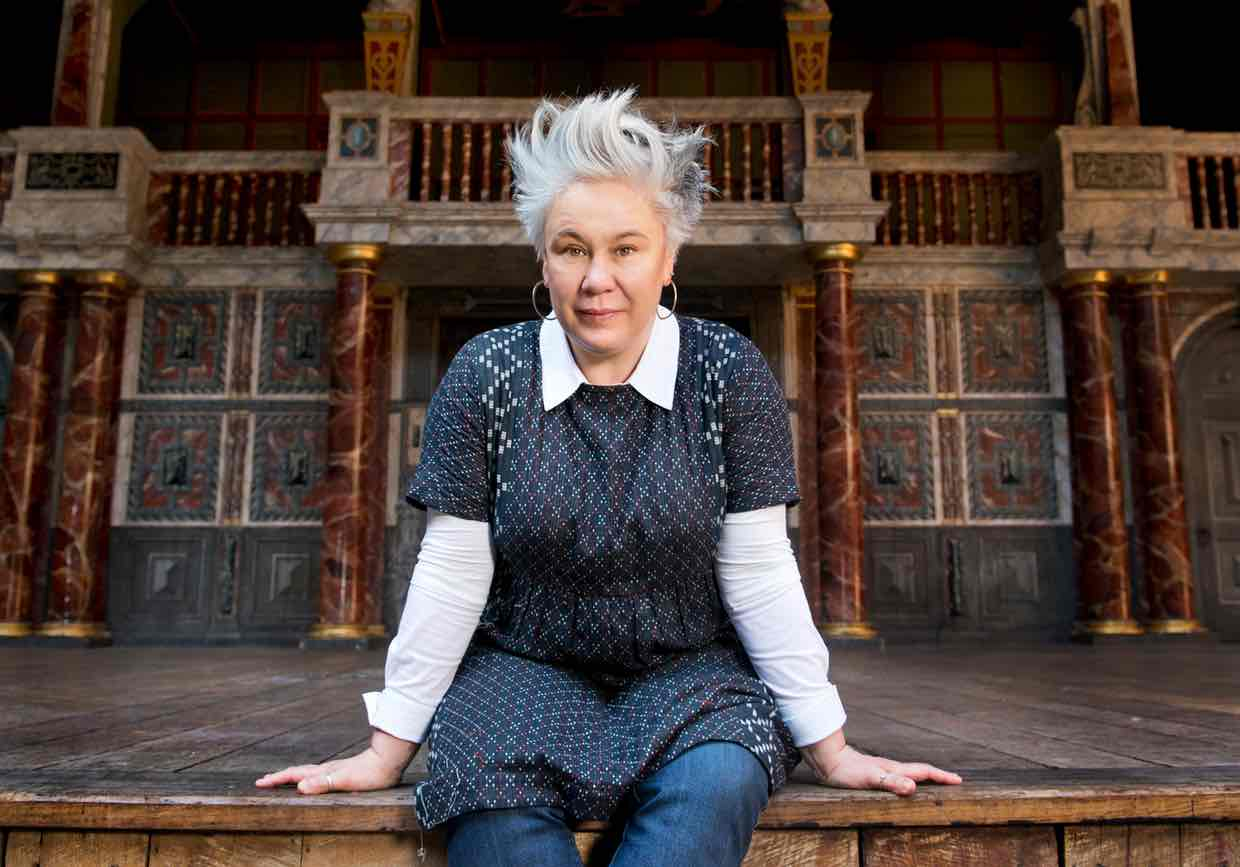 Emma Rice will not be continuing at Shakespeare's Globe Theatre on London's Bankside in 2017.  Image: The Guardian UK