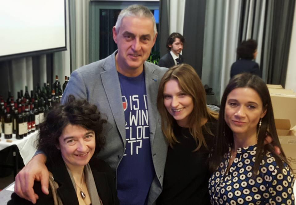 Con Gianluca Morino, Emanuela Pregnolato e Paola Adami.