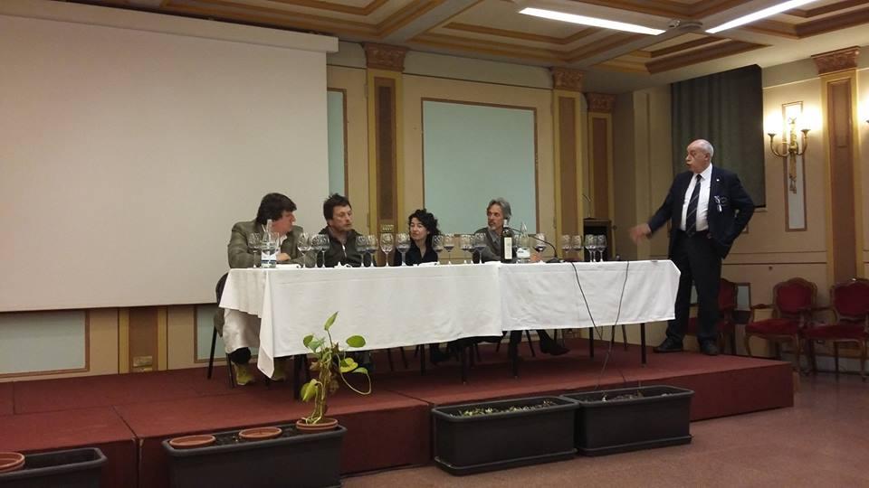 Ermanno Accornero, Francesco Brigatti, Mario Olivero e il Delegato Egidio Miglio