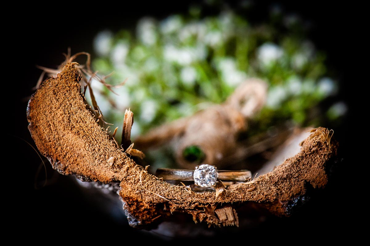 I love creating some detail photos of the things that make a wedding special. Engagement ring