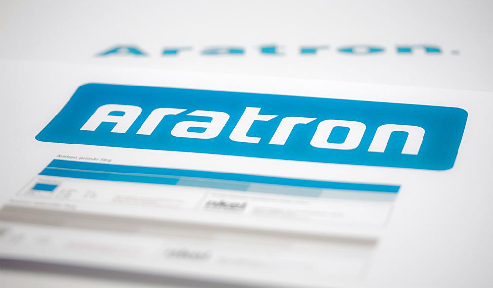 Ny logotyp Aratron