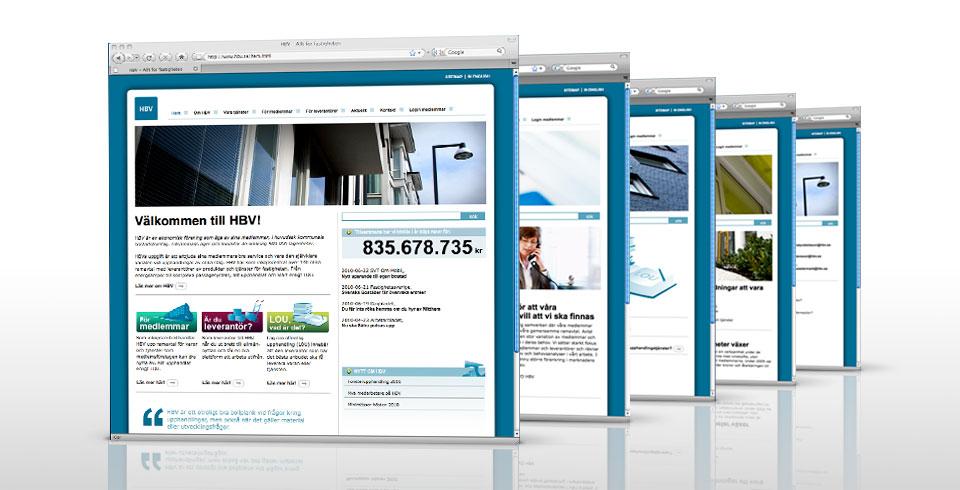 Ny form och nytt innehåll på hemsidan