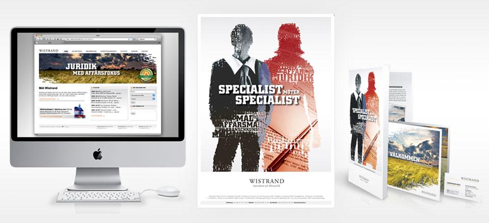 Nytt reklamkoncept för advokatbyrå