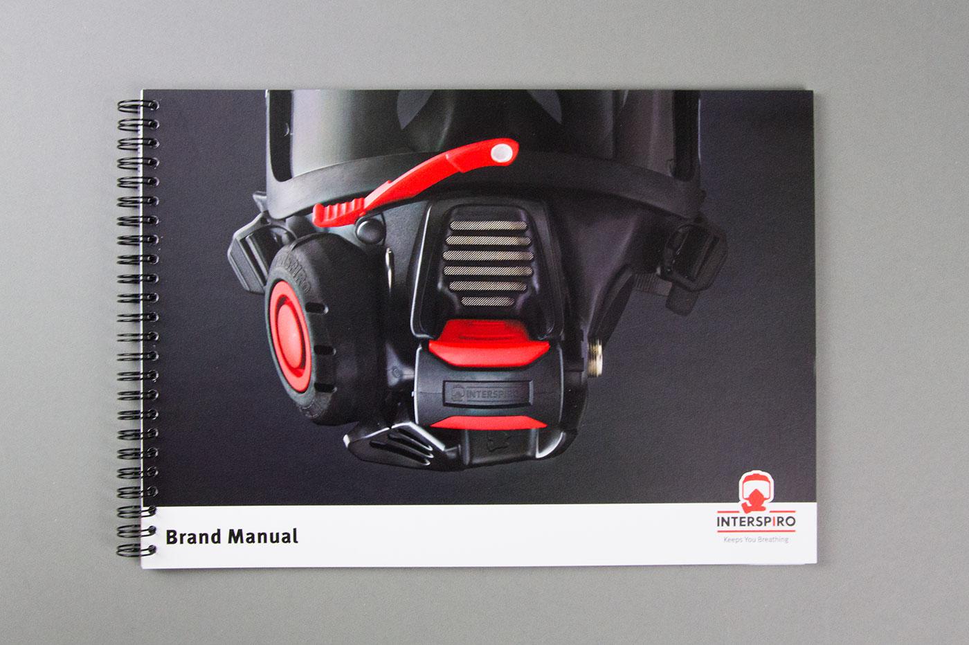 Interspiros nya varumärkesmanual innehåller allt från varumärkesplattform till regler för logotypen, grafiska element, typografi, tonalitet och produktmärkning