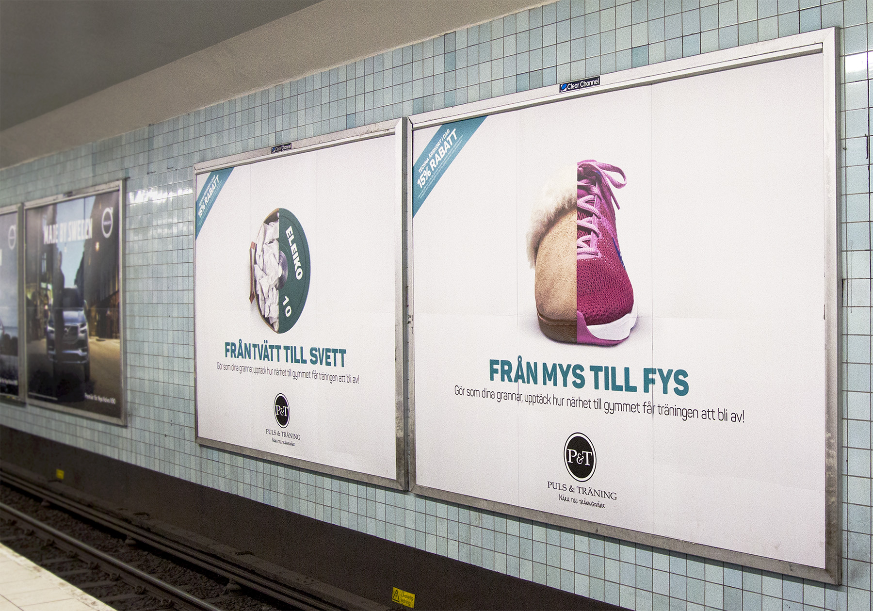 Stortavlor i tunnelbanan