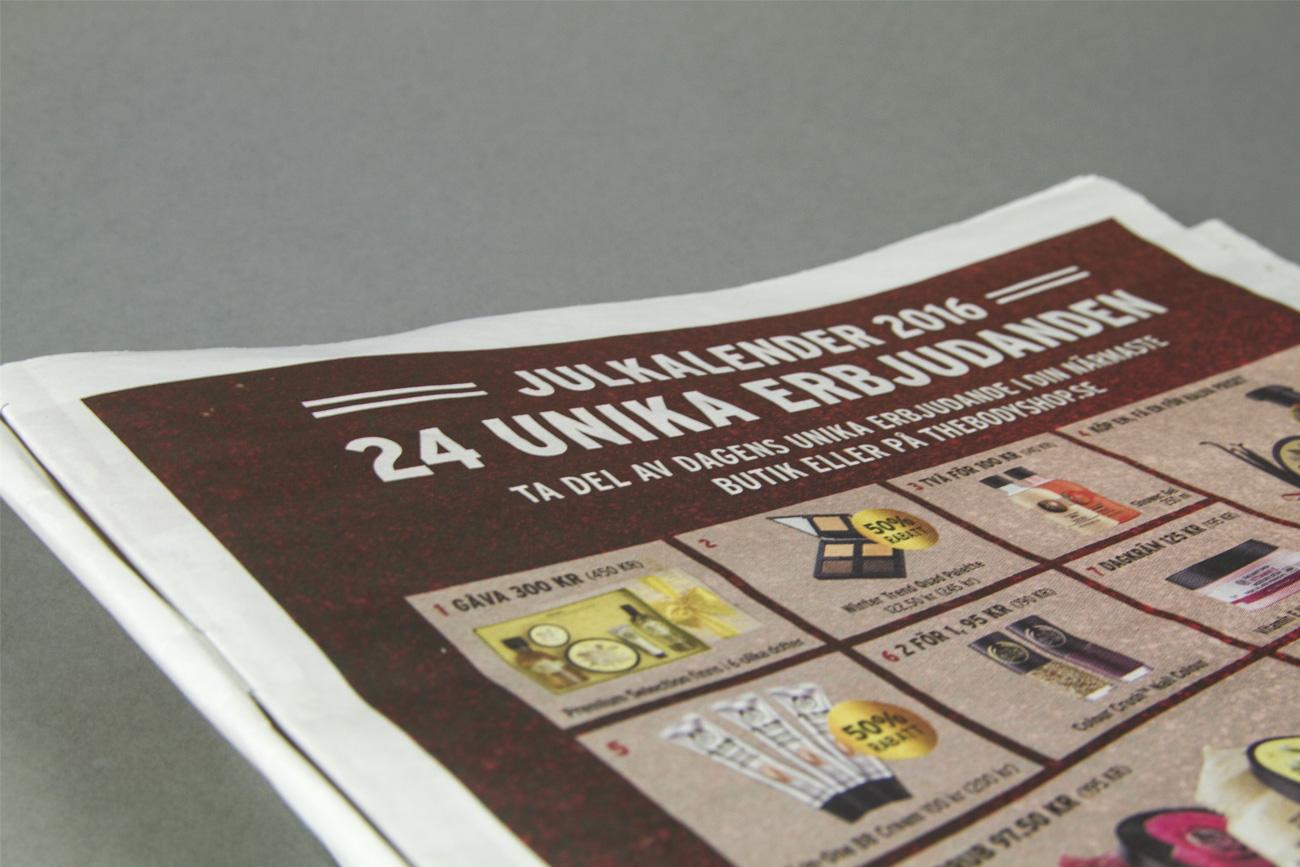 Annons i Metro
