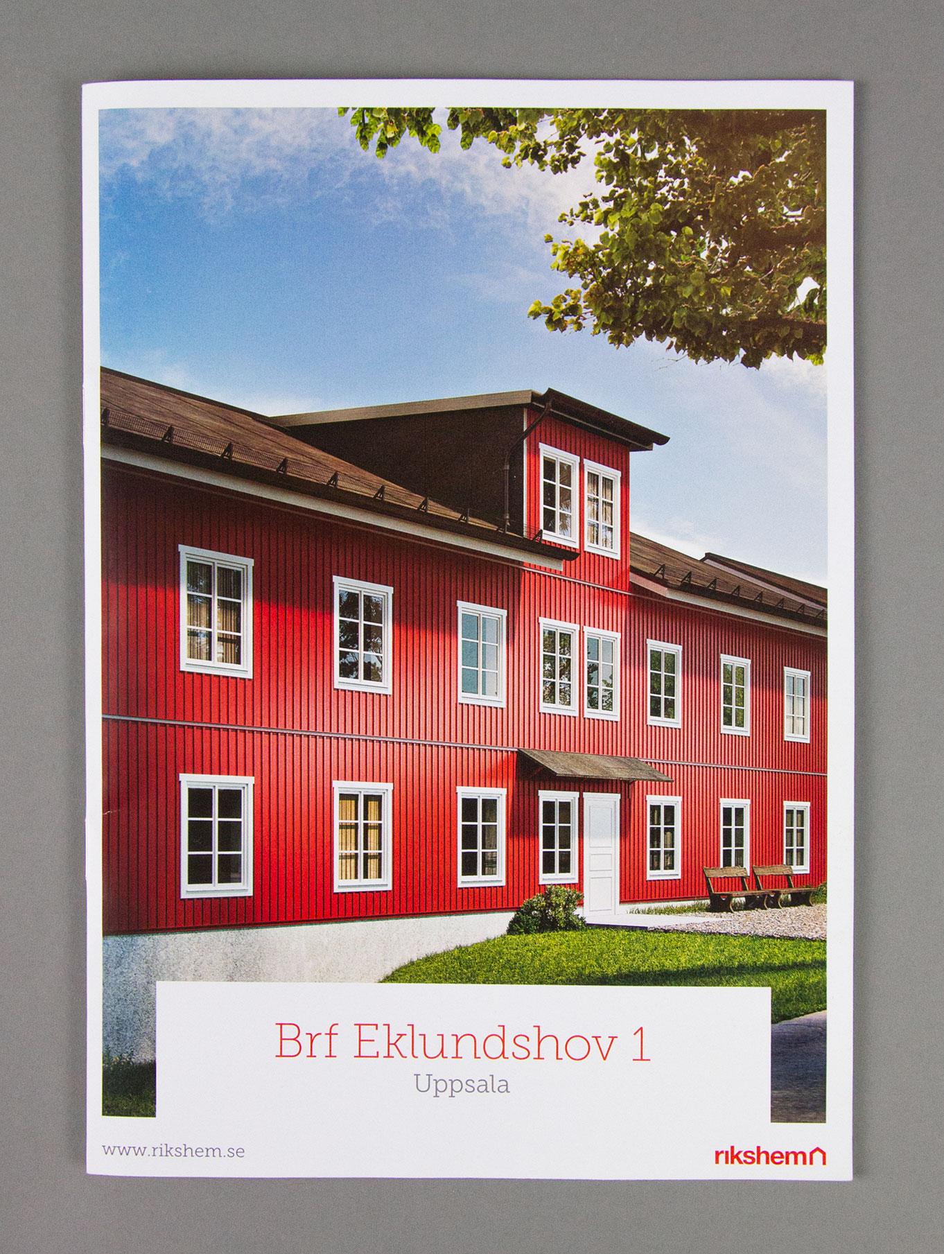 Framsida katalog för nybyggda bostadsrätter