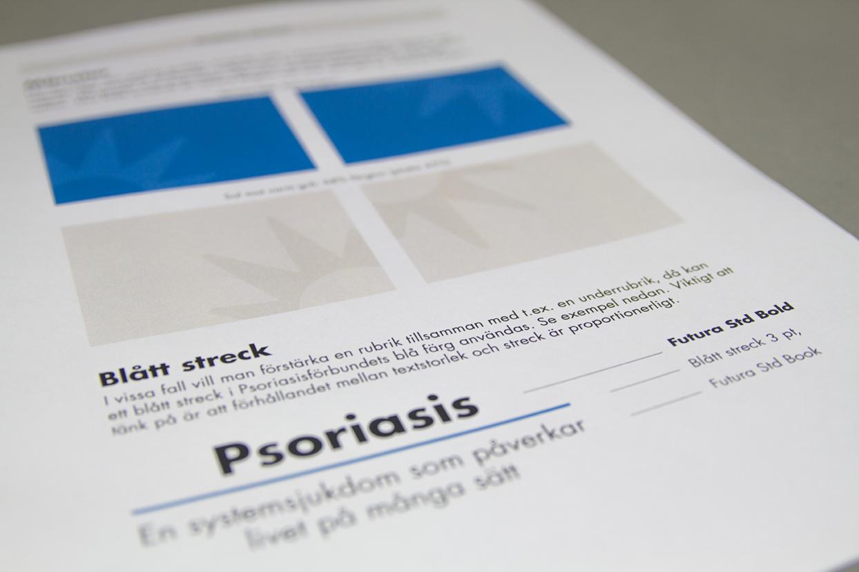 Den grafiska profilen uppdaterades under arbetet.