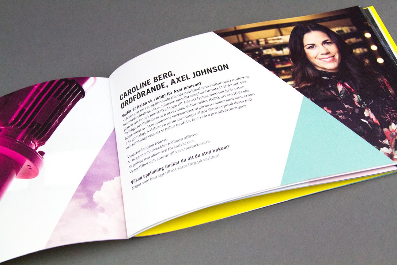 nkel reklambyrå broschyr uppslag