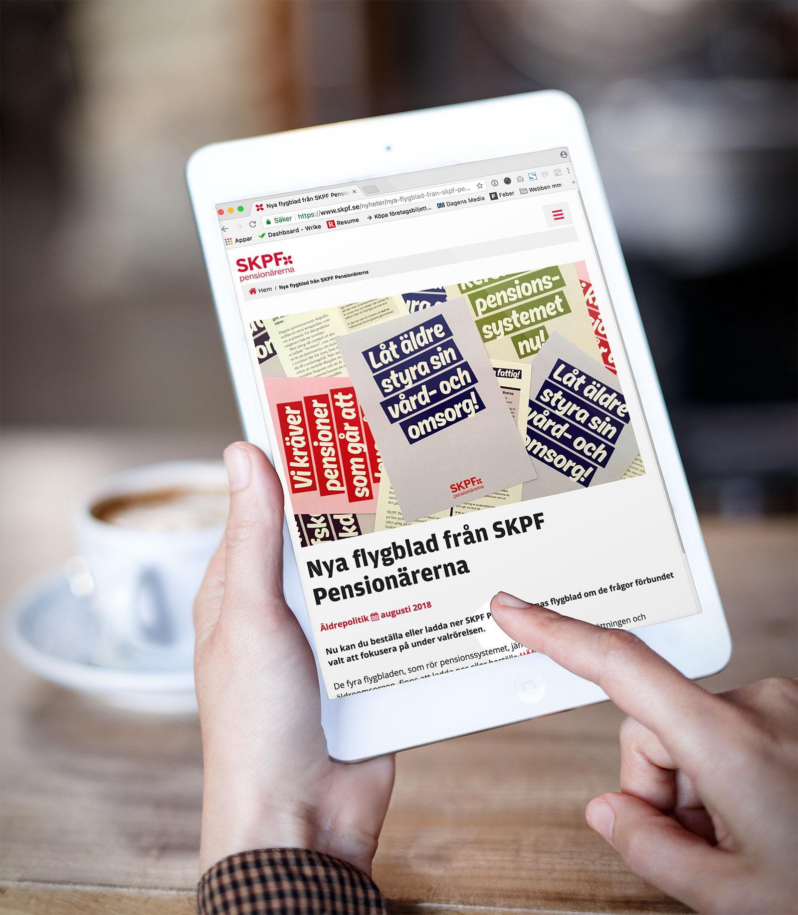 Ny responsiv sida med användarvänlig design och fokus på konvertering