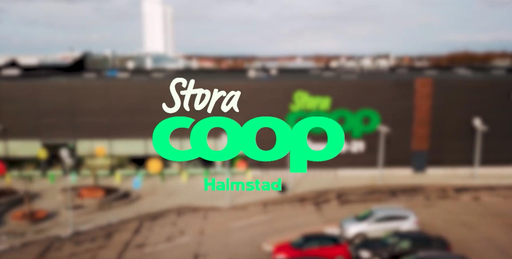 Reklamfilm för Stora Coop i Halmstad