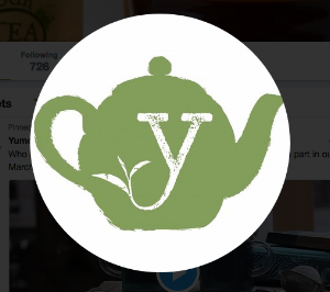 Yumchaa's official logo icon - for Twitter/instagram and social media.