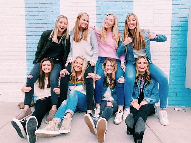 We're so proud to get to be apart of a sorority full of awesome women on a day like today. Happy national women's day from ADPi!!!