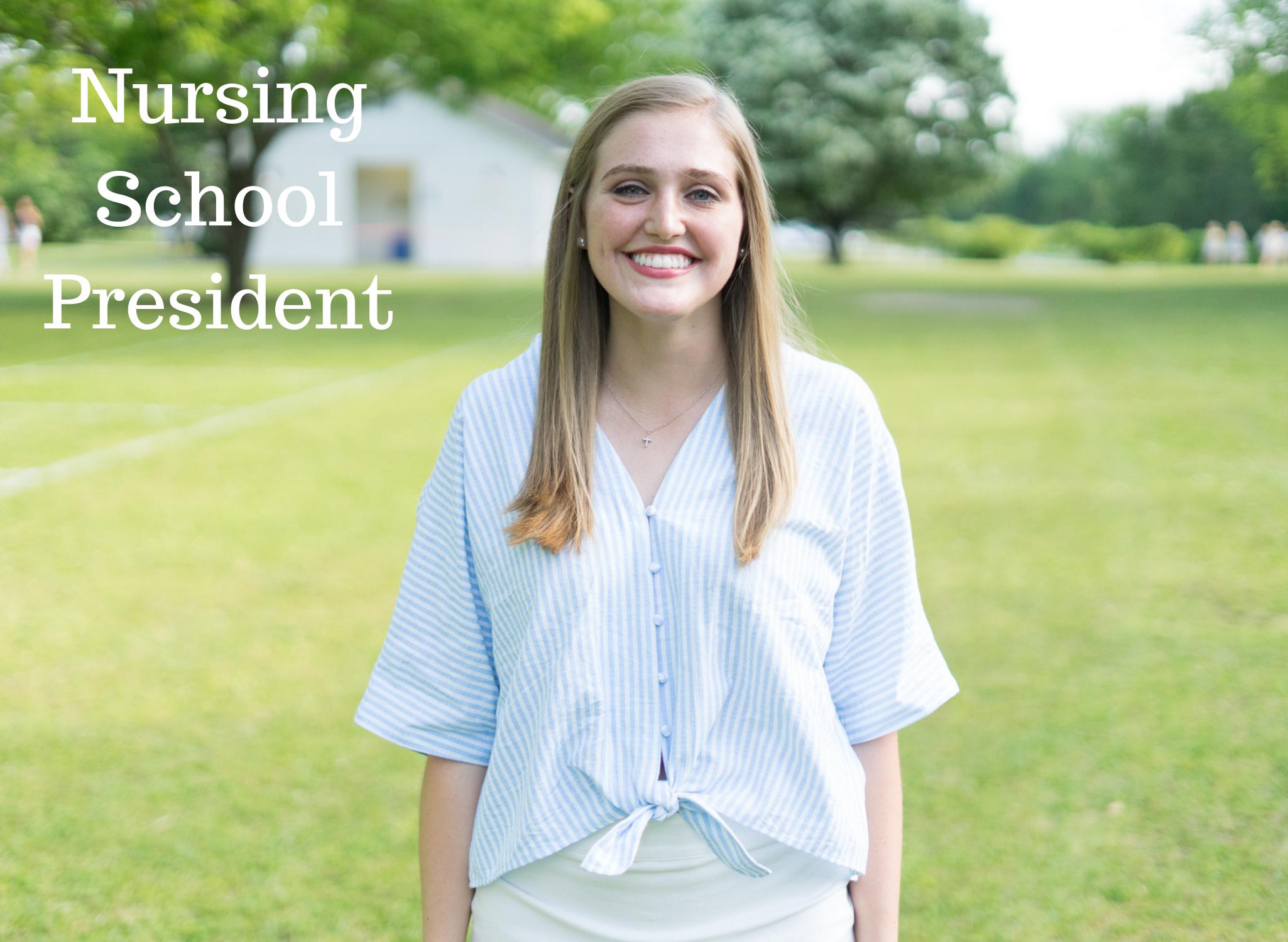 Nursing School President.png