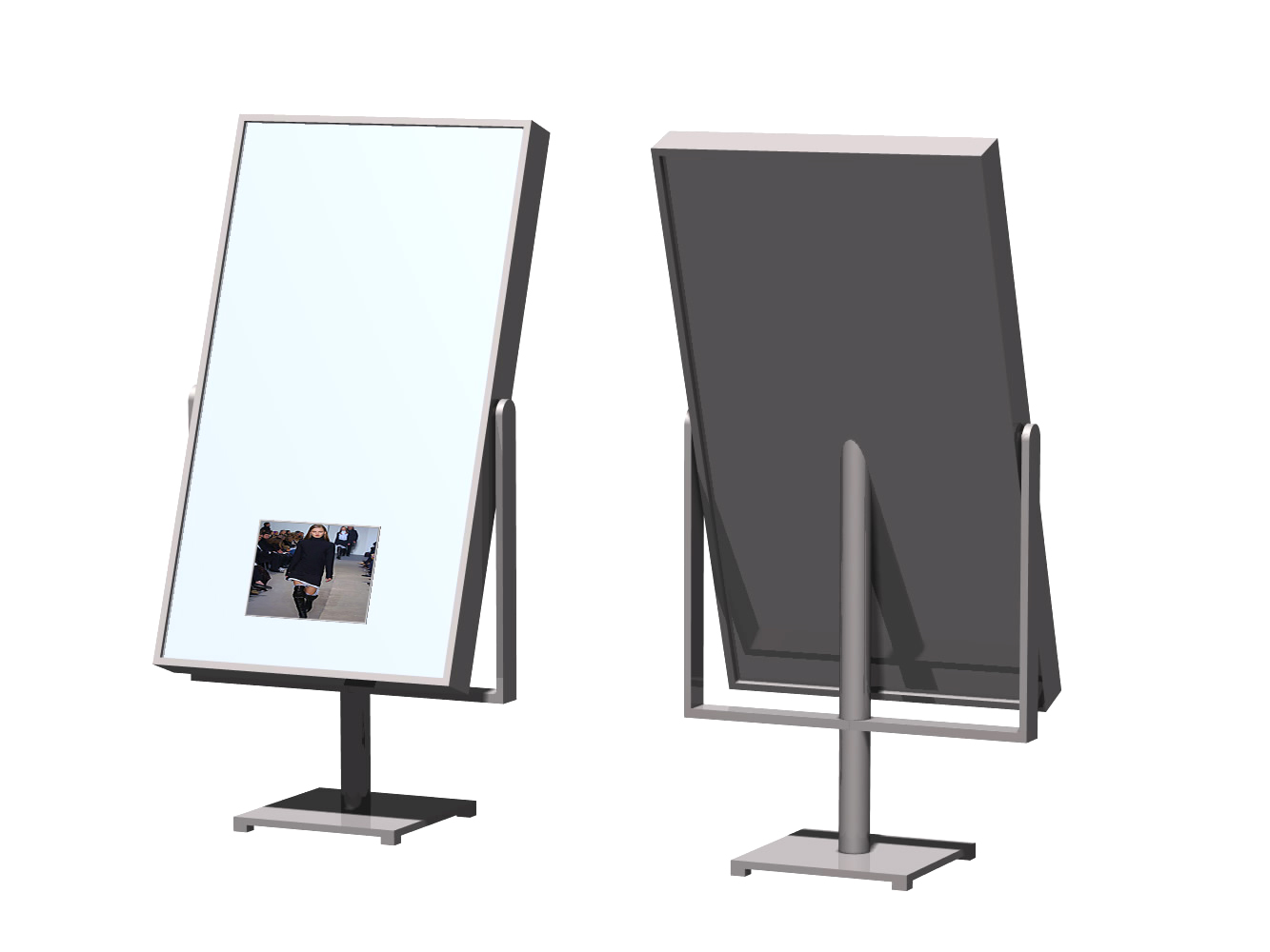 vertical display stands for advertising by jgx group