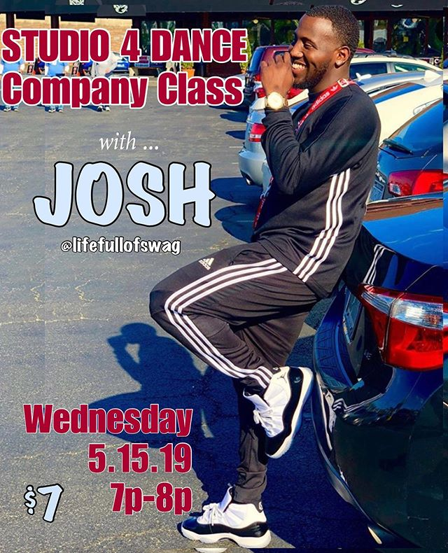 🗣TOMORROW... @lifefullofswag takes the floor for Open Company Class🙌!! We'll 👀 you there! . 7-8pm, only $7 @dogtowndancetheatre . . #wervahiphop #studio4bookedit #rvahiphop #rvadance #training #trainingseason #dmvdance