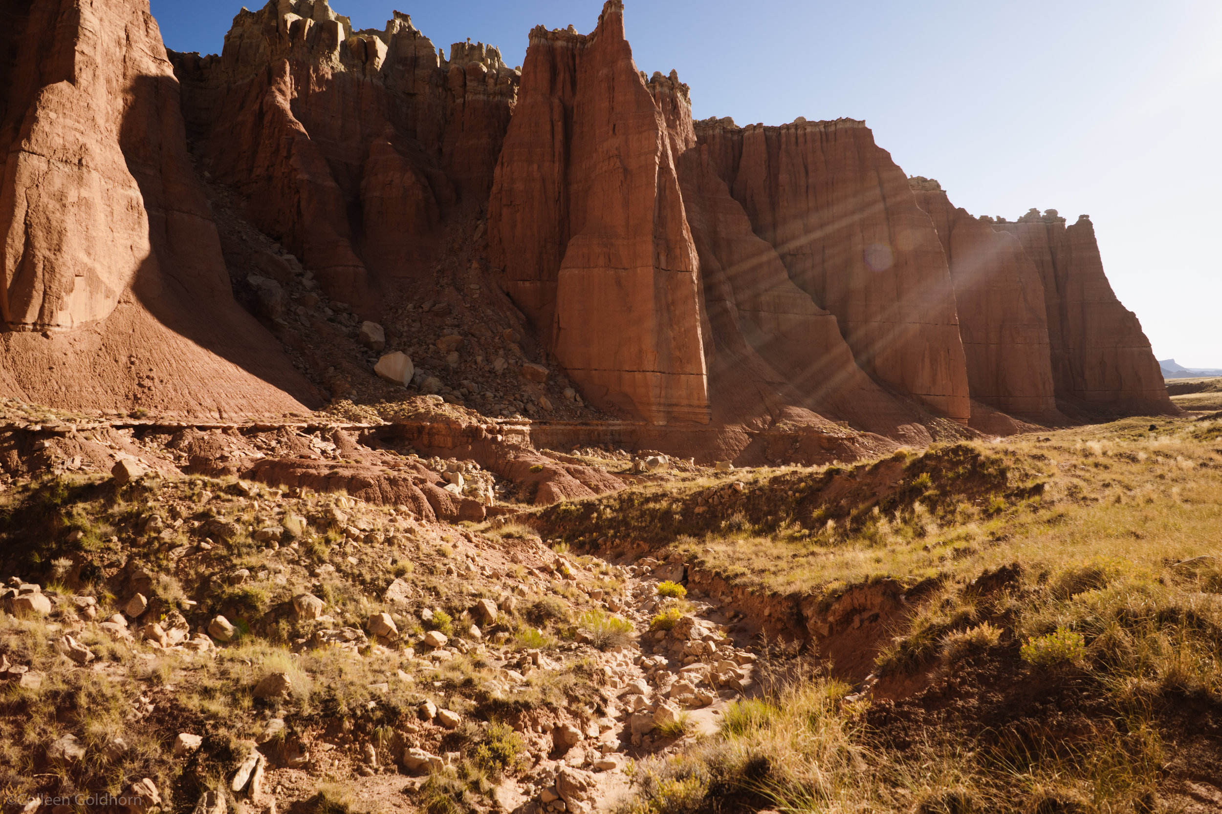 We made a few other stops that morning, including Gypsum Sinkhole,