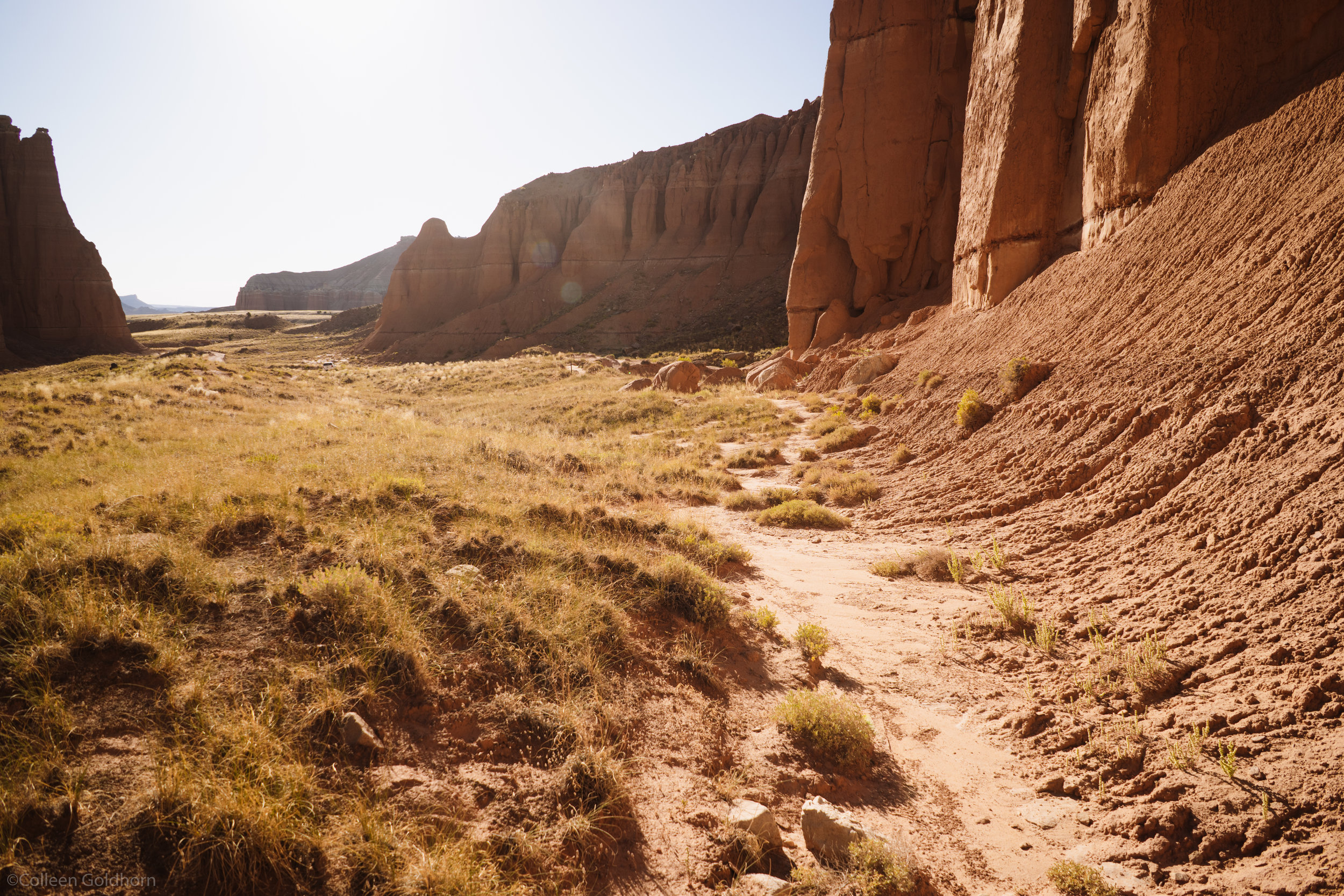 The silence of the Capitol Reef backcountry was almost deafening. With no wind, large plants, or day time animals to make noise, it was the the most quiet place I have ever experienced.